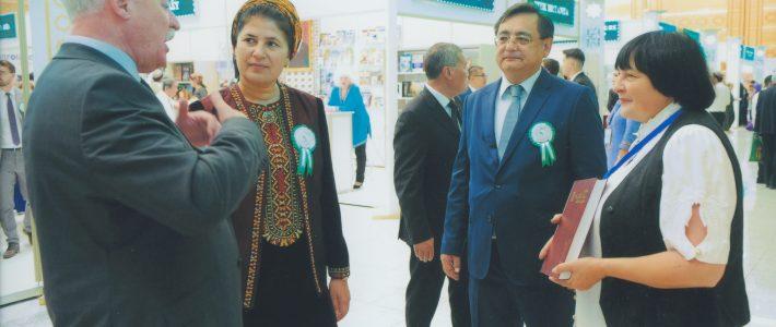ДНУ «Енциклопедичне видавництво» взяла участь у ХІІ Міжнародній виставці-ярмарці й науковій конференції «Книга — шлях співпраці і прогресу», що відбулася у Ашгабаді, Туркменістан